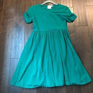 Emerald Green ASOS maternity skater dress